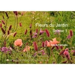 FLEURS DU JARDIN - SAISON 1-Les créations - livre en téléchargement