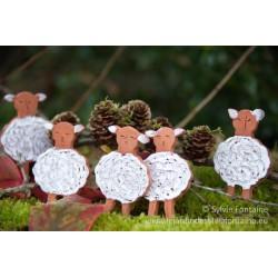 5 petits moutons