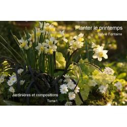 CD-LIVRE NUMERIQUE  Planter le printemps -Jardiniéres et compositions
